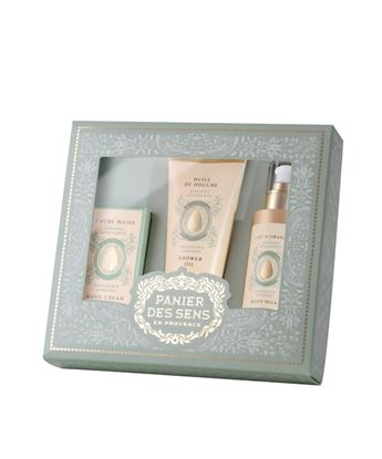 Picture of Almond Gift set - Shower gel 200ml + Body lotion 200ml + Hand 75ml