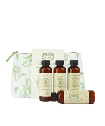 Picture of Almond Body Care Travel set - Shower gel 70ml + Shampoo 70ml + Conditioner 70ml + Body lotion 70ml