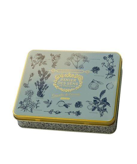 Picture of Tin box 3 hand creams 30ml - Lavender Provence Rose
