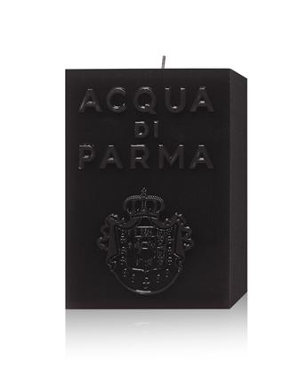 Picture of BLACK CUBE CANDLE 1KG