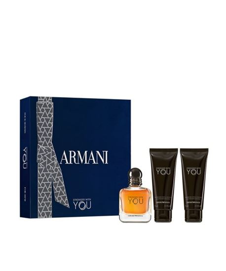 Picture of EMPORIO ARMANI STRONGER WITH YOU EDT SPRING SET