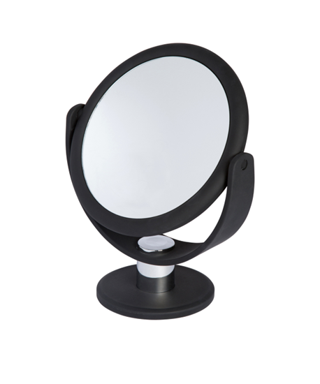 Picture of SOFT TOUCH VANITY MIRROR -BLACK