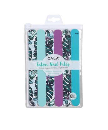 Picture of NAIL FILES -TROPICAL VIBES - 6PCS