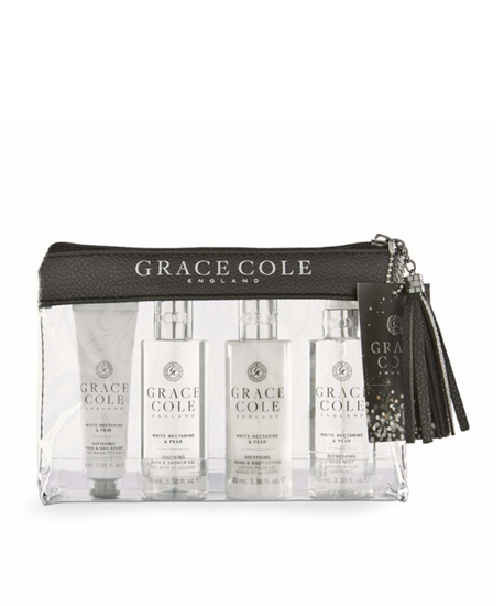 Picture of WHITE NECTARINE &PEAR TRAVEL SET
