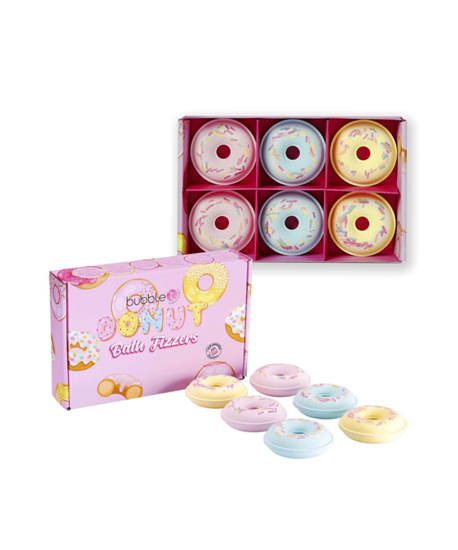 Picture of Donut Bath Bomb Fizzer Gift Set (6 x 58g)